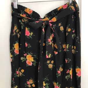 Forever 21 floral pants